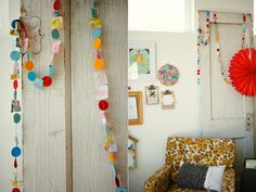 diy {fabric & felt garland} » ashleyannphotography.com