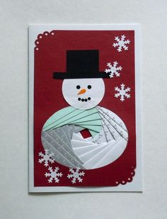 iris folding | novoletne voščilnice - iris folding foto 19170324 Iris Folding Templates, Iris Paper Folding, Iris Folding Pattern, Christmas Projects, Christmas Paper, Paper Cards, Folded Cards, Card Patterns, Winter Cards