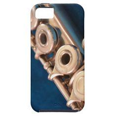 Flute Design Case Artwork by Carmen Hertel iPhone 5 Cover
