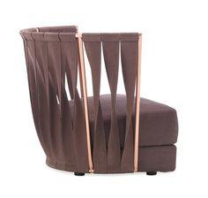 Iron armchair TWIST | Armchair by Cantori