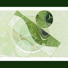 'Mercedes Emblem abstrakt' von Chris Berger bei artflakes.com als Poster oder Kunstdruck $16.99