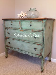 Weathered Pieces: Alaskan Tundra Green