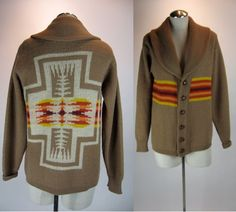 SALE  70s PENDLETON SWEATER  Southwestern by movement33store,