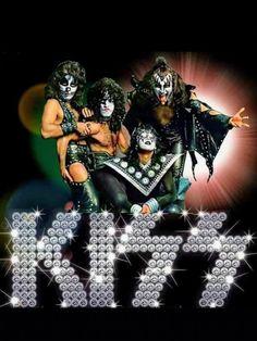 Kiss Rock Bands, Rock And Roll Bands, Rock N Roll, Samba, Hard Rock, Kiss Group, Kiss World, Kiss Members, Beatles Guitar