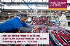 2016 News items - DG Azevêdo calls for action to provide trade finance for small businesses