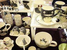 Totoro merchandise - mug - cup - salt - pepper - shaker