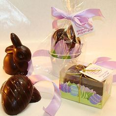 Creek House Organic Non Dairy Vegan Chocolate Easter Bunny and Egg Set - http://bestchocolateshop.com/creek-house-organic-non-dairy-vegan-chocolate-easter-bunny-and-egg-set/