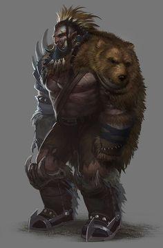 Armadura pele de urso