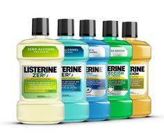 Listerine - 2014 Packs on Behance