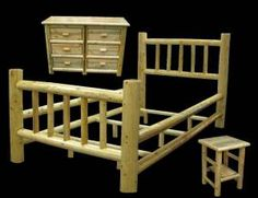 Love log furniture