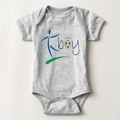 Soccer boy - baby boy soccer designs baby bodysuit - baby gifts giftidea diy unique cute