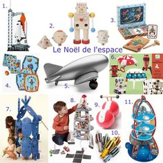 Toys for little spationauts