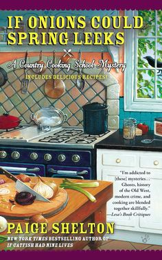 Mystery Lovers' Kitchen: Welcome guest author Paige Shelton! Veggie recipe + Book Giveaway