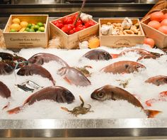Fresh is the only way to go! Head to Estiatorio Milos, inside The Cosmopolitan, for the freshest fish in Las Vegas. #VegasEats