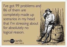 99 Problems E-card, anxiety, pregnancy, motherhood