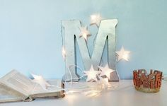 DIY : Ma guirlande d'étoiles ( + printable )