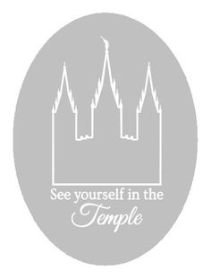 LDS salt lake temple / see yourself in the temple / digital download / PNG eps SVG