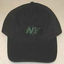 45c790ac782 NFL New York Jets Black Relaxed Fit Adjustable Hat By Reebok FREE SHIPPING!