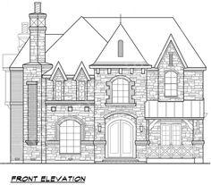 Pebble Creek House Plan - Sketch