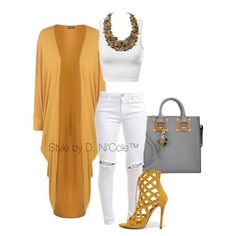 I WORE A SIMILAR outfit but I wore Army green top, Army green heels, white jeans with a denim jacket & clutch. Compliments all night. Mode Outfits, Fall Outfits, Fashion Outfits, Womens Fashion, Dress Outfits, Dresses, Fashion Tips, Classy Outfits, Stylish Outfits