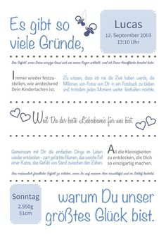 Geschenk zur Geburt, Taufe, Geburtstag von lilou4you auf DaWanda.com