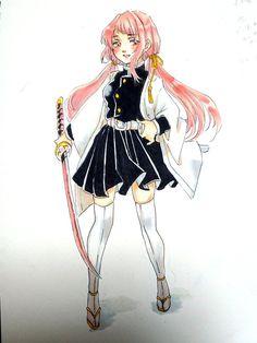 Anime Oc, Anime Angel, Manga Anime, Demon Slayer, Slayer Anime, Kawaii Anime Girl, Anime Art Girl, Female Characters, Anime Characters