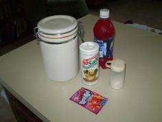 Homemade Electrolyte Replacements (Homemade Gatorade)