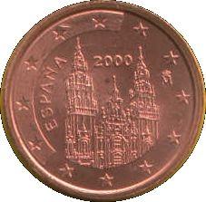 2 Cents #Spagna - 1999-2009 Cattedrale di Santiago de Compostela.