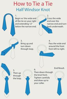 10 Stylish Ways to Tie a Necktie: from Trinity to Truelove to Half-Windsor to Hanover with step-by-step instructions Windsor Tie Knot, Half Windsor, Tie Knot Styles, Tie A Necktie, Real Men Real Style, Retro Mode, Cool Ties, Men Style Tips, Tie Knots