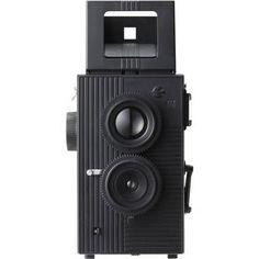 Blackbird, Fly 35mm Twin-Lens Reflex (TLR) Camera (Black)