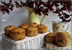 Receta de Muffins de avena, plátano y chocolate (Thermomix)