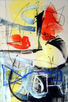 Le chemin des écoliers, 2008, 195 x 130 cm