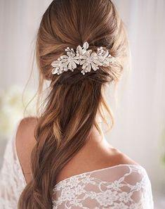 Bohemian Wedding Hair, Beach Wedding Hair, Wedding Hair Pins, Wedding Hair Down, Wedding Headband, Rustic Wedding Jewelry, Wedding Veils, Boho Bride, Wedding Bride