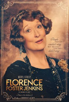Check Out These New FLORENCE FOSTER JENKINS Character Posters   http://www.themoviewaffler.com/2016/04/check-out-these-new-florence-foster.html