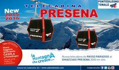 Da sabato 28 aperta la nuova cabinovia del Presena