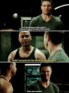 Arrow - Oliver & Diggle #4.17 #Season4 :)