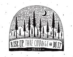 Rise up, take courage and do it. Ezra 10:4  In life, we're frequently faced with things that trip us up. However, this bible verse reminds us to stand up and take courage so we can do something about it. We can teach our kids this at a very young age. Starting with maybe... cleaning our rooms! The mess may be big but not too big for us to handle. This makes for an opportunity to encourage them to reflect on the bible verse and apply it in that moment.  #riseup #takecourage #doit