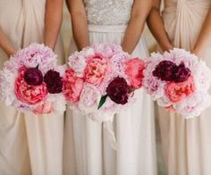 #weddingbouquet #reds #pinks #flowers