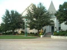 Whitehall Center. The replica chapel at Carleen Bright Arboretum http://www.woodway-texas.com/lev1.cfm/9