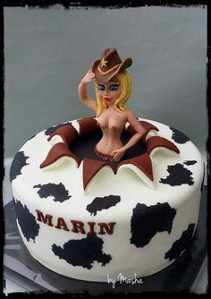 Adult target adult mold cake