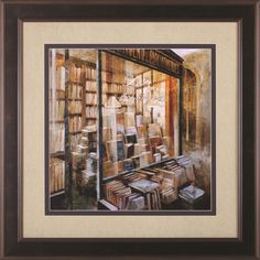 Librairie by Noemi Martin Framed Painting Print