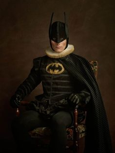 """Super Flemish"" Collection: Superheroes by Sacha Goldberger 
