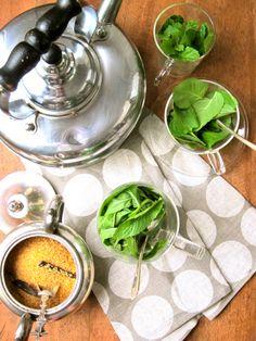 Mint Tea / Food on Fifth