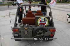 Mini Moke in military (back)
