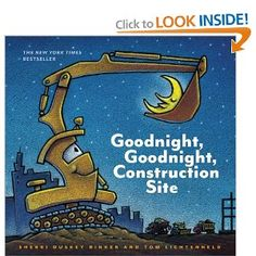 Great book for little boys obsessed with all things trucks.