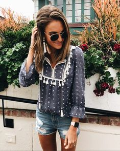 cutest tassel top