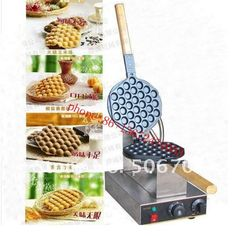 173.55$  Watch now - http://alicxi.worldwells.pw/go.php?t=32607889949 - Free shipping 110v 220v  Electric  Egg puffs machine  Egg waffle maker