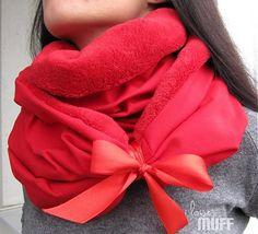 muff / teplodaj ovečka červený Scarves, Band, Fashion, Ponchos, Scarfs, Moda, Sash, Fashion Styles, Fashion Illustrations