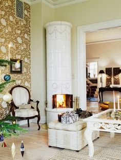 For The Outer Sanctum Stuff Pinterest Gas Stove - Charm of vintage christmas – 25 fascinating ideas