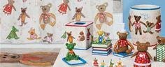 Little Friends Bath Accessories and Shower Curtains by Creative Bath